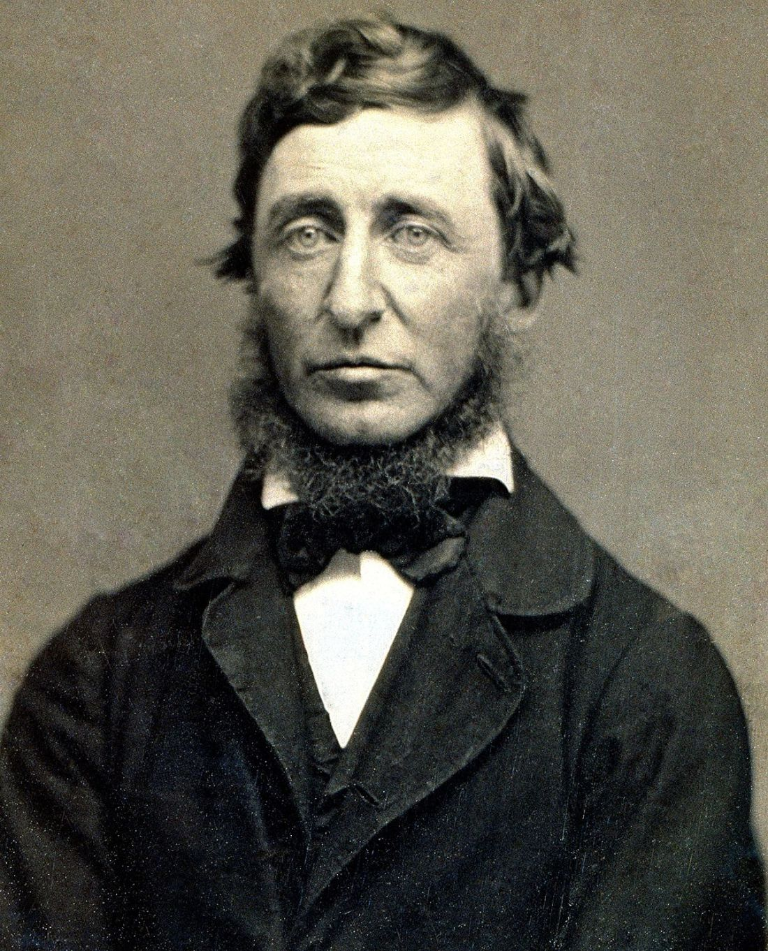 Thoreau Portrait Restored
